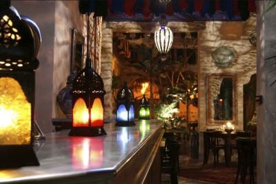 Le bar – riad Nejma – Paris
