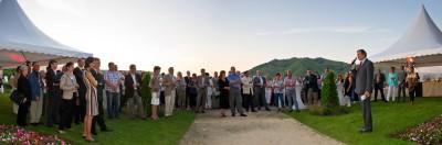 200 convives: producteurs, partenaires, institutionnels, élus…