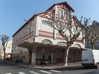 Biarritz – la halle du marché