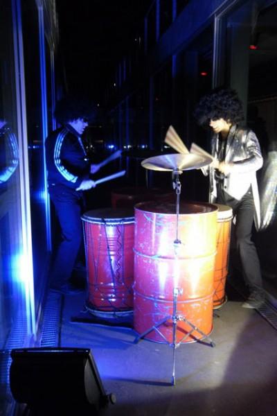 Accueil «bidons percussions»