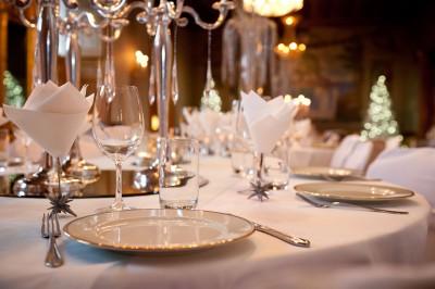 Set-up diner de gala