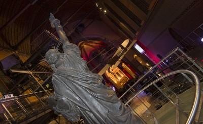 «Bartholdi» et sa «liberté» veillent sur la soirée