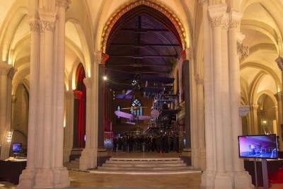 «l'église»: dispositif de lumières