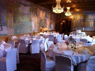 set-up diner dans grand salon