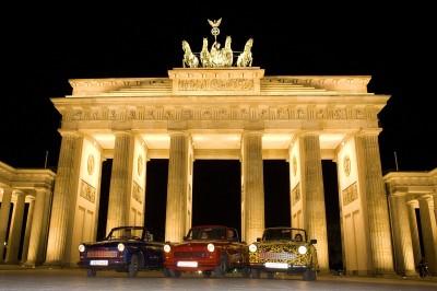 rally Traban dans Berlin